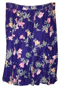 Other Vintage Floral Printed Hawaiian Tropical Skirt