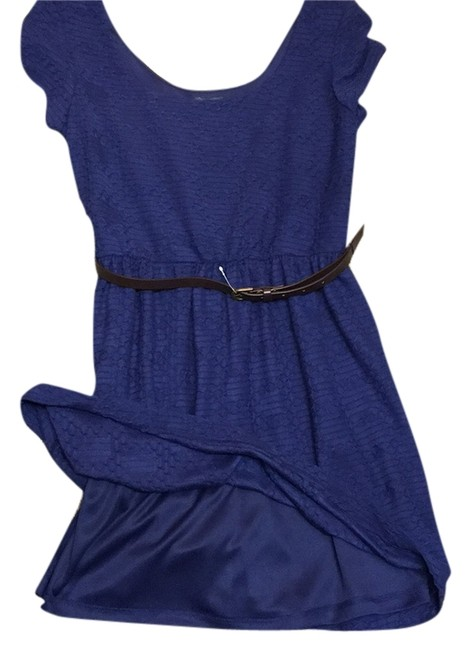 Preload https://item1.tradesy.com/images/lily-rose-navy-blue-above-knee-short-casual-dress-size-8-m-10485835-0-1.jpg?width=400&height=650
