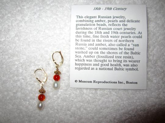 Museum Reproductions New Russian Baltic Amber Pearl Museum Reproductions Boston