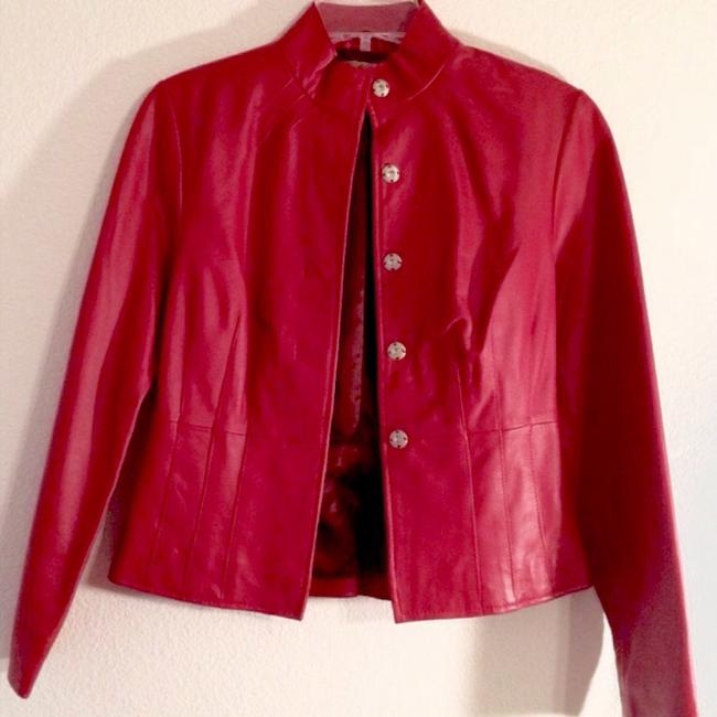 Other Red Leather Jacket