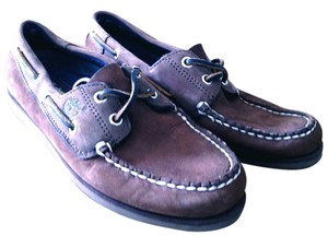 Timberland Deck Casual Boating 6 6.5 Sperry Topsider Sebago Preppy Dc Dmv Maritime Fashion Brown nubuck Flats