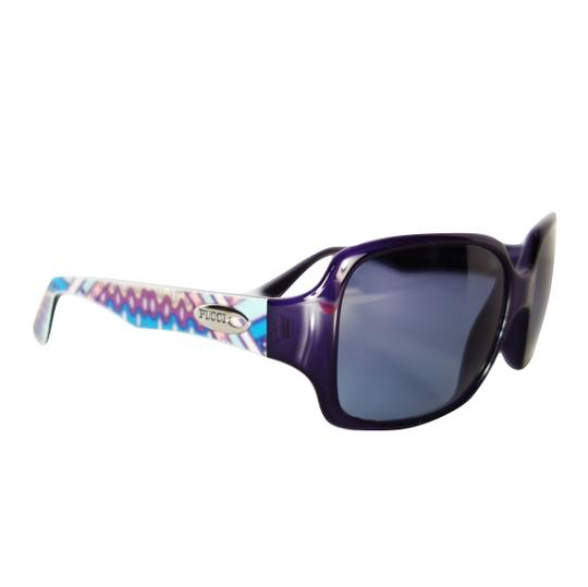 Emilio Pucci $425 SUNGLASSES NEW with case and cards Deep Purple