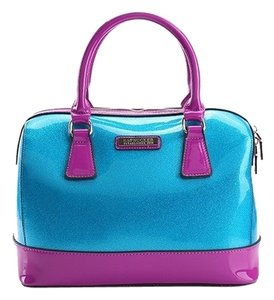 SABOHEMIAN Satchel in Baby Blue/ Pink
