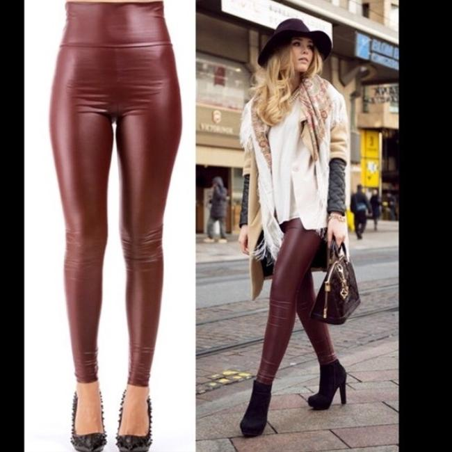 Fashion Envy Maroon Leggings