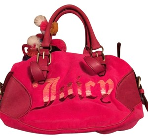 Juicy Couture Satchel in Hot Pink