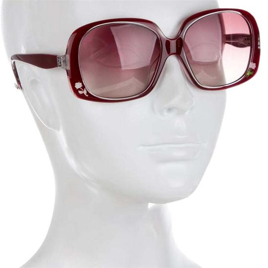 Preload https://item4.tradesy.com/images/fendi-new-with-case-burgandy-rose-inlaid-sunglasses-10486963-0-26.jpg?width=440&height=440