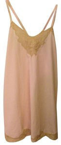 Anthropologie short dress Light Pink Lace on Tradesy