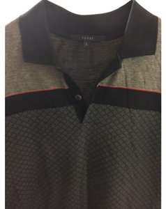 Gucci Button Down Shirt Black/Grey