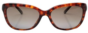Gucci GUCCI GG3672/S Sunglasses - Brown Tortoiseshell with Bamboo Trim