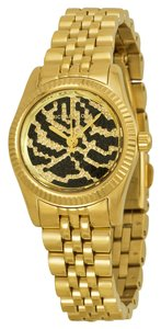 Michael Kors Michael Kors Crystal Pave Dial Gold Tone Dress Ladies Watch