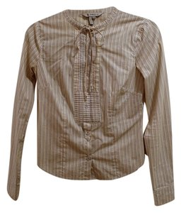 BCBGeneration Extra Buttons Button Down Shirt Striped