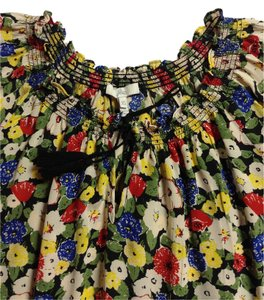 Joie Flowy Floral Date Summer Top Multi