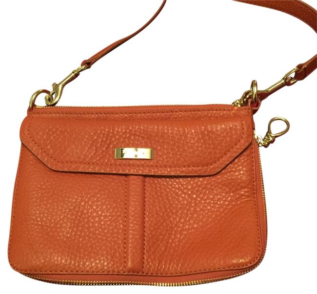 Item - Burnt Orange Leather Messenger Bag