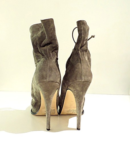 Brian Atwood grey Boots