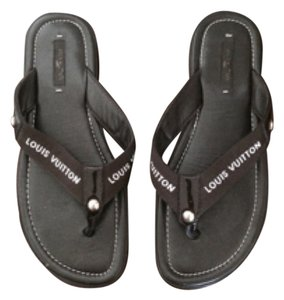 Louis Vuitton Brown Sandals