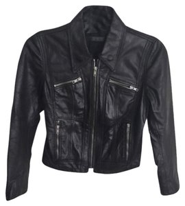 Genetic Denim Leather Jacket