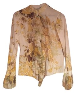 Roberto Cavalli Top Gold and yellow
