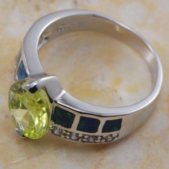 Multi Colored Bogo Free Opal Peridot Free Shipping Ring