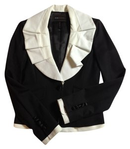 BCBGMAXAZRIA Bcbg Work Black and White Blazer
