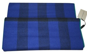 Burberry NWT BURBERRY $350 BLUE GREEN WOOL CASHMERE NOVA CHECK SCARF SNOOD