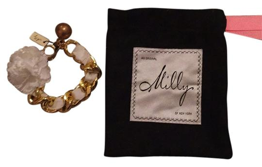 Preload https://item5.tradesy.com/images/milly-white-and-gold-bracelet-10489264-0-1.jpg?width=440&height=440
