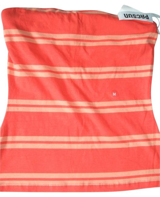 Preload https://item2.tradesy.com/images/lilu-women-s-sleeveless-strapless-pascun-bodycon-sugar-coral-new-blouse-size-8-m-10489336-0-2.jpg?width=400&height=650