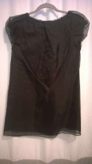 Diane von Furstenberg Shift Shift Dress Top Black