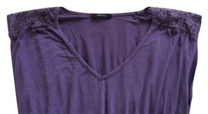 Forever 21 Lace Lace Vneck Feminine 21 F21 Top Purple