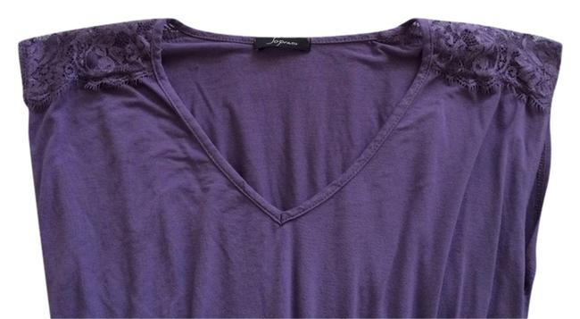 Preload https://item3.tradesy.com/images/forever-21-purple-lace-shoulder-blouse-size-4-s-1049027-0-0.jpg?width=400&height=650