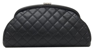 Chanel Classic Caviar Timeless Black Clutch