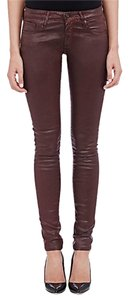 AG Adriano Goldschmied Coated Skinny Jeans-Coated
