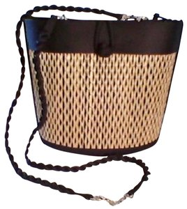 Basket of Cambodia Tote in Black Speckled