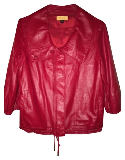 Preload https://item1.tradesy.com/images/st-john-red-leather-jacket-size-12-l-10491430-0-1.jpg?width=400&height=650