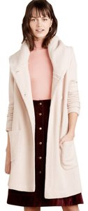 Anthropologie Boiled Wool Warm L Coat
