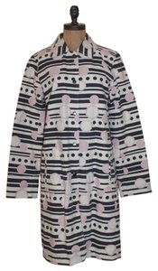 Ben Sherman Printed Geometric Pea Coat