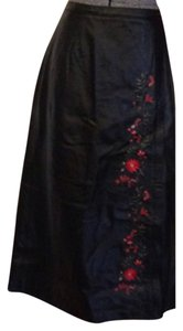 Dialogue Maxi Skirt Blac