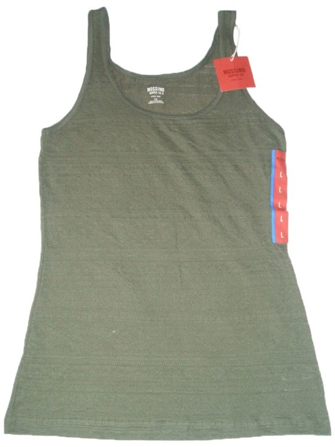 Preload https://img-static.tradesy.com/item/10492339/mossimo-supply-co-women-s-co-olive-green-cotton-blend-new-tank-topcami-size-12-l-0-1-650-650.jpg
