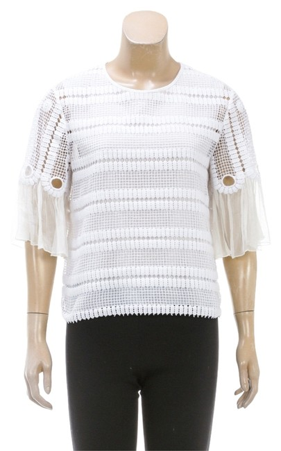 Preload https://item2.tradesy.com/images/chloe-white-half-sleeve-crochet-layered-40-4841-blouse-size-20-plus-1x-10492621-0-1.jpg?width=400&height=650