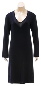Brunello Cucinelli short dress Navy Blue on Tradesy