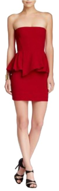 Preload https://img-static.tradesy.com/item/10493443/the-kooples-red-peplum-above-knee-cocktail-dress-size-0-xs-0-1-650-650.jpg