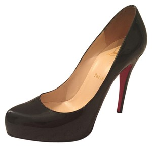 Christian Louboutin Patent Leather Rolando BLACK Pumps