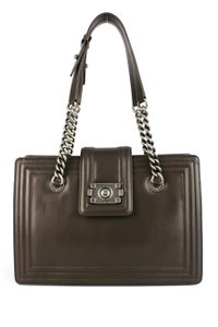 Chanel Boy Day Tote in Espresso