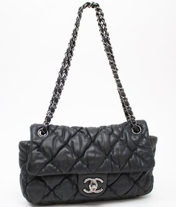 Chanel Flap Chain Bubble Shoulder Bag