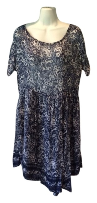 Band of Outsiders short dress Blue/white on Tradesy
