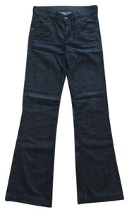Citizens of Humanity Trouser/Wide Leg Jeans-Dark Rinse