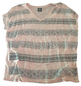 Bobeau Top Dusty Pink