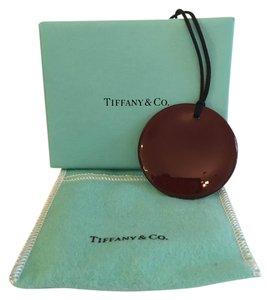 Tiffany & Co. Tiffany & Co. Elsa Peretti Brown Lacquered Pendant - Price Reduced