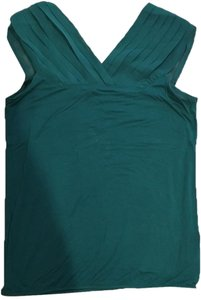 The Limited Chiffon Elegant Evening Top Green