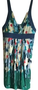 BCBGMAXAZRIA short dress Floral, Multi on Tradesy