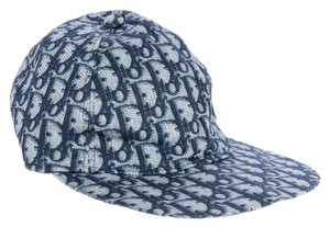Dior Blue, white Diorissimo monogram canvas Christian Dior Hat new
